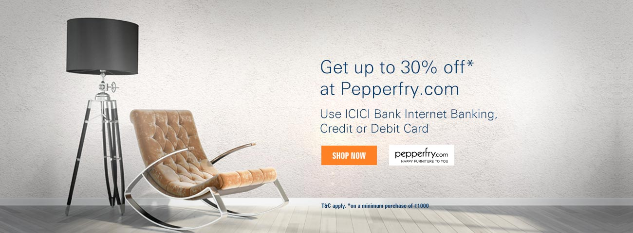 Pepperfry Discount Offer