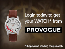 Provogue Watch Offer