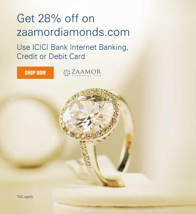 Get 25% Off Using Zaamor Diamonds Coupon Code