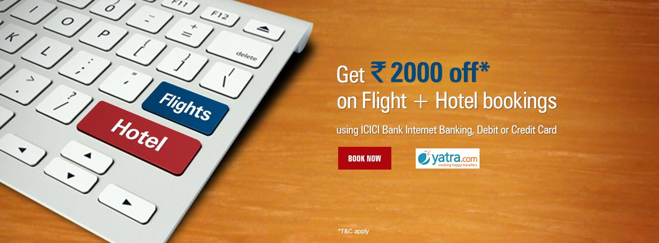 Yatra Flight + Hotel Offer