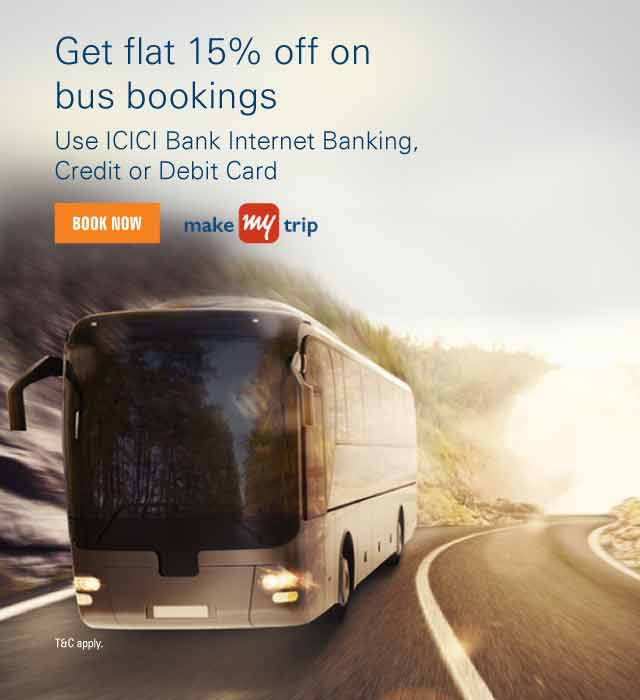 Makemytrip Bus Offer