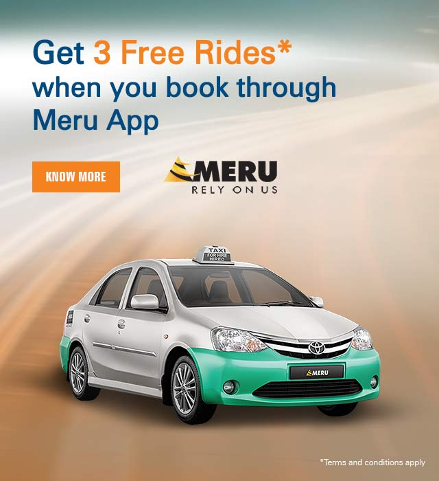 Meru Cab Offer