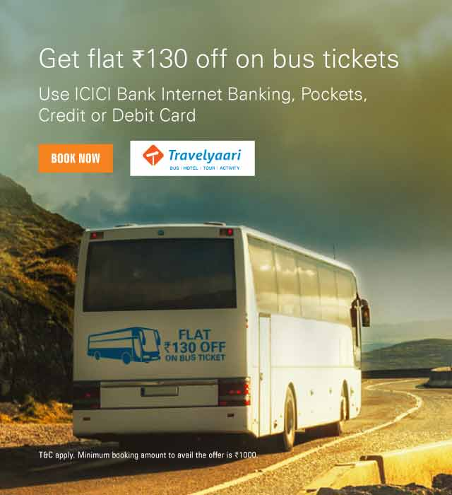 Discount coupons for travelyaari