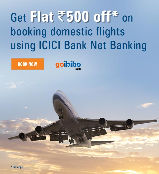 Goibibo Domestic Flights Offer
