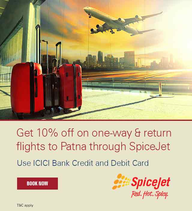 Get 10% off - Spicejet l ICICI Bank