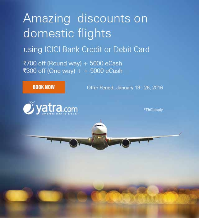 How to start saving with our Yatra offers?