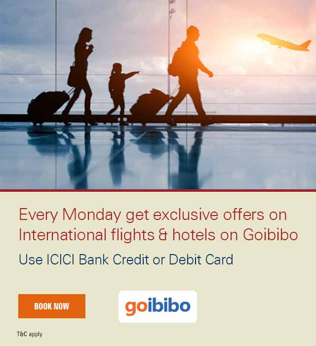 Goibibo Travel Mondays Offer