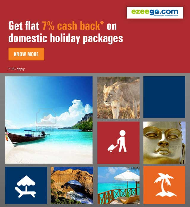 Domestic Holidays Offer