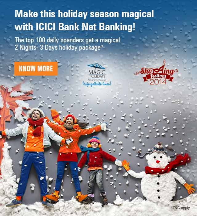 Magic Holidays Gift Voucher