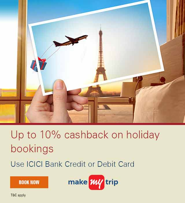 Makemytrip Holidays Offer