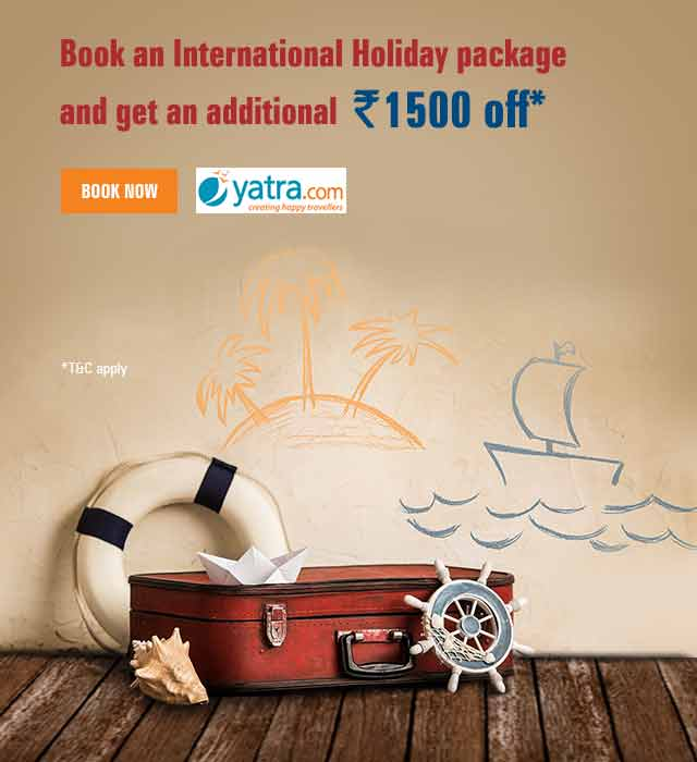 Yatra International Holiday Offer