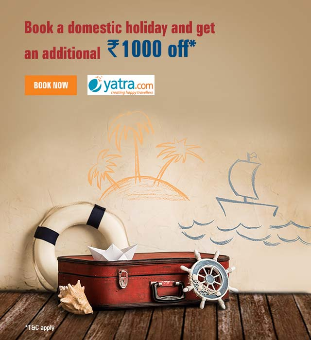 Yatra Domestic Holidays Offer