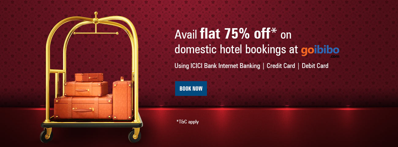 Goibibo Domestic Hotel Offer
