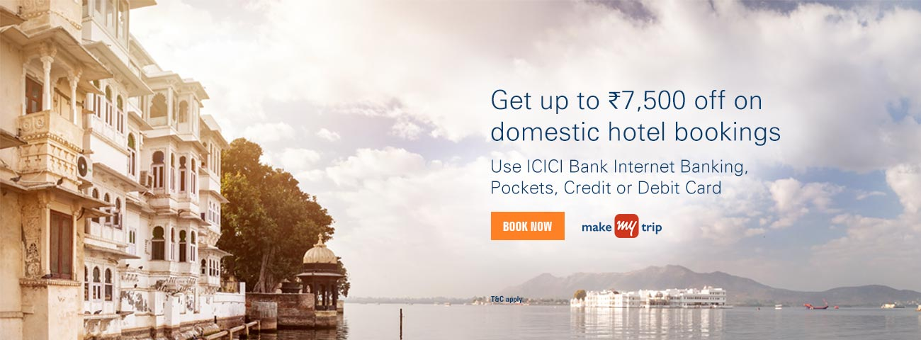 Makemytrip Domestic Hotel Offer