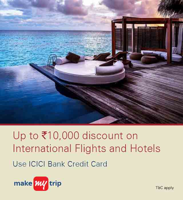 Makemytrip International Hotel Offer