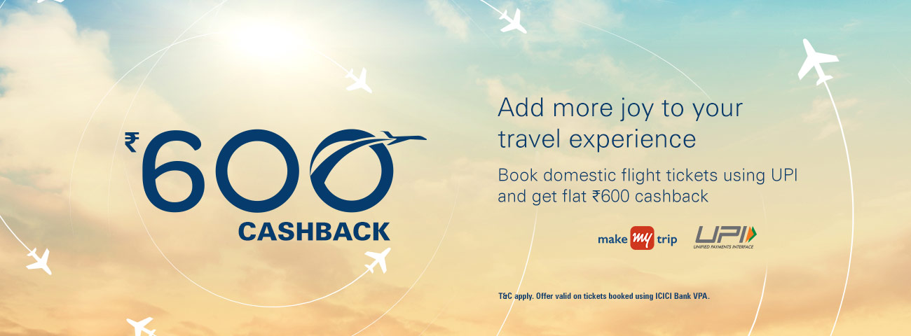 MakeMyTrip Domestic Flights Offer - Flat ₹ instant discount Book Now Book Now. I. Definitions