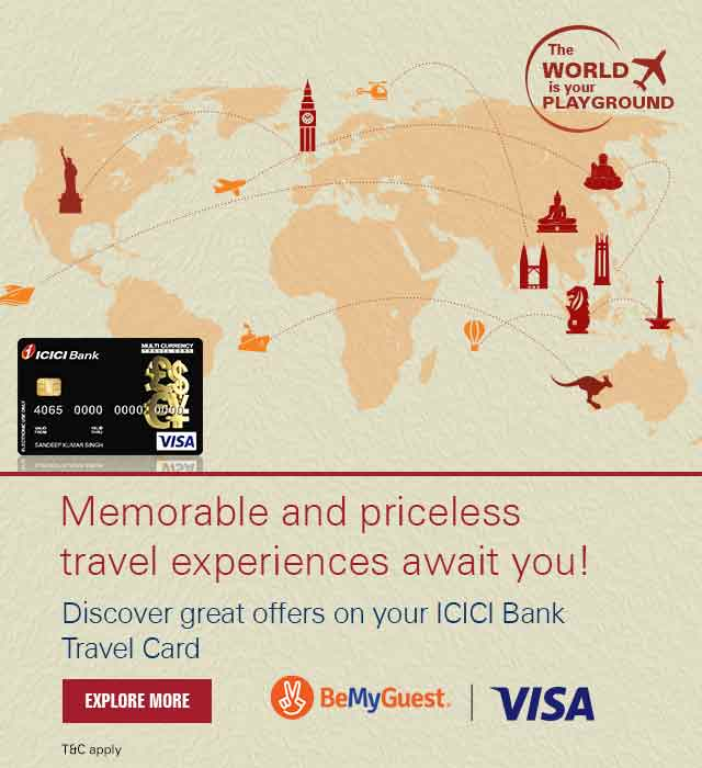 Visa Be My Guest Travel Card Offer