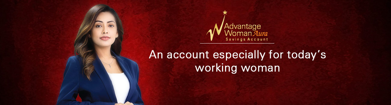 Advantage Woman AURA Savings Account