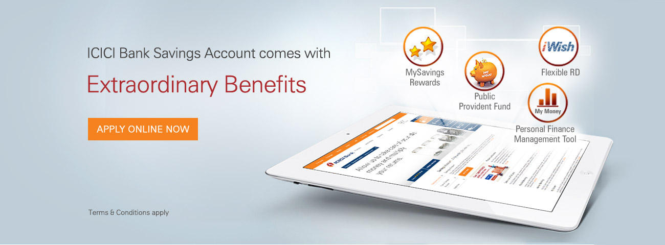 how to open icici bank account