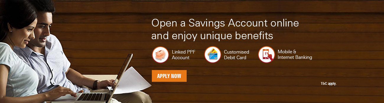 Apply for Savings Account