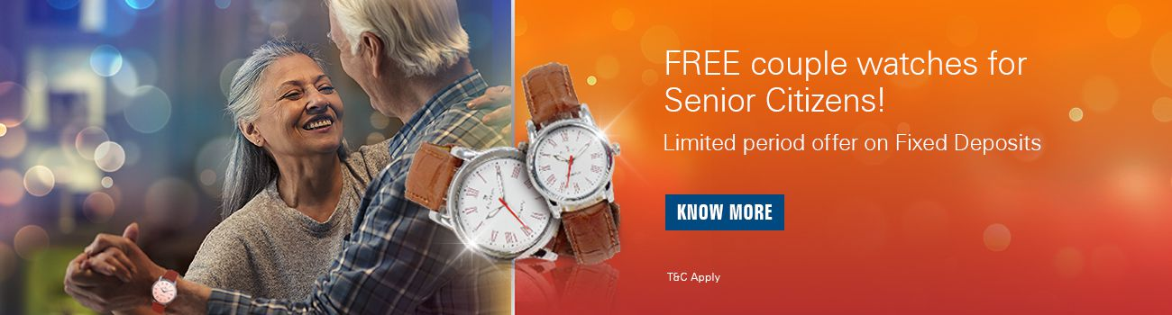 Senior Citizen FD Offer