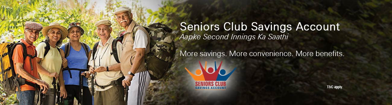 Senior Club Saving Account