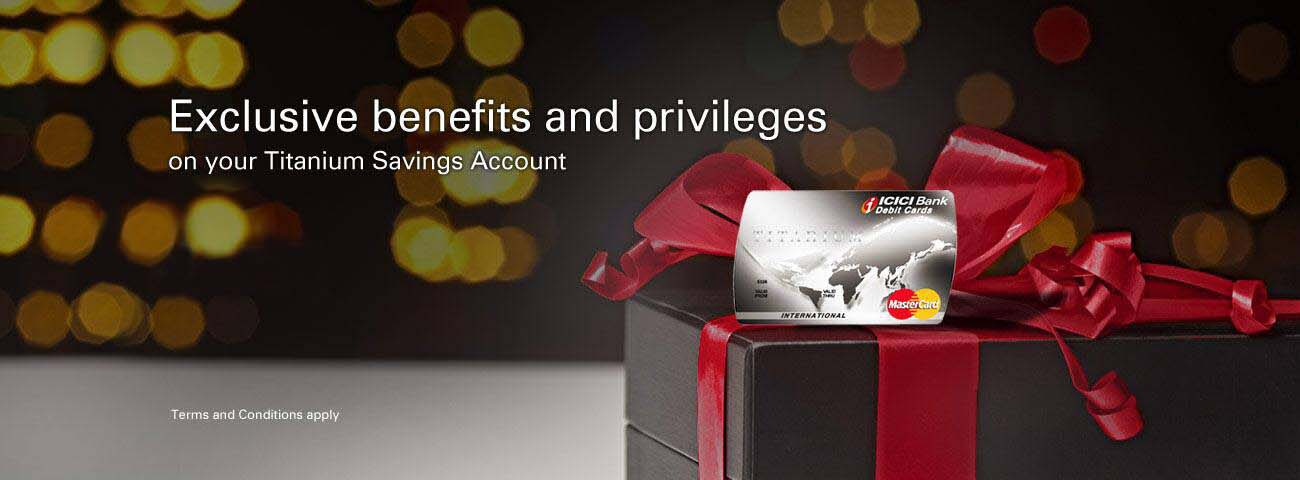 Titanium Privilege Savings Account