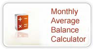 Monthly Average Balance Calculator