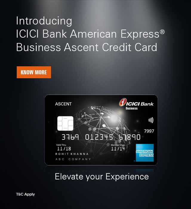 Ascent Business Advantage Card