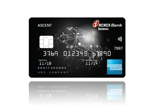Business credit card corporate commercial credit card icici bank ascent card reheart Gallery