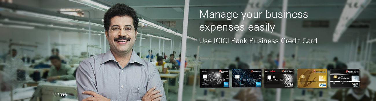 ICICI Bank Visa Business Card offers