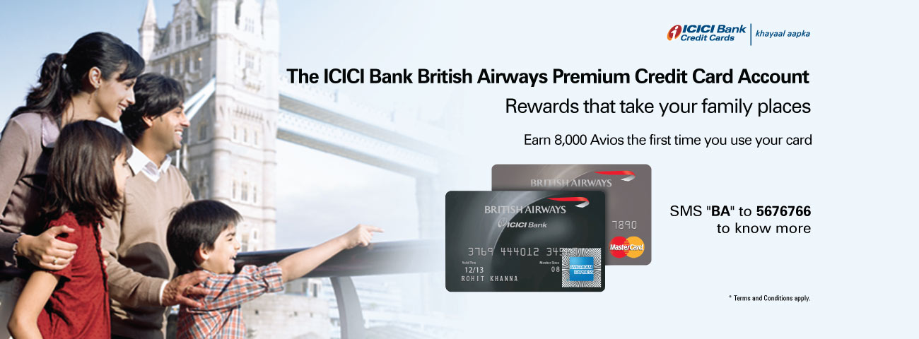 British Airways Premium Credit Card