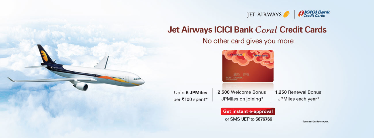 Jet Airways Coral