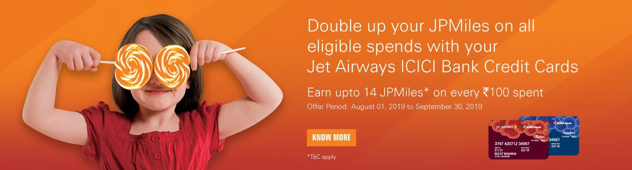Jet Airways ICICI Bank Credit Cards