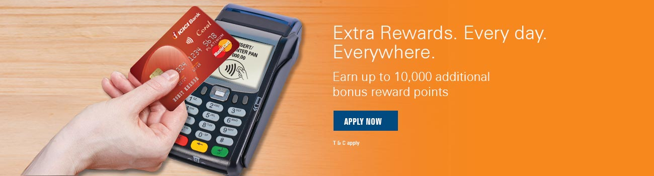 Coral Contactless Cash Rewards