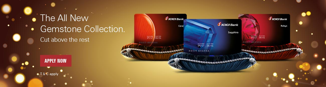 Gemstone Credit Card