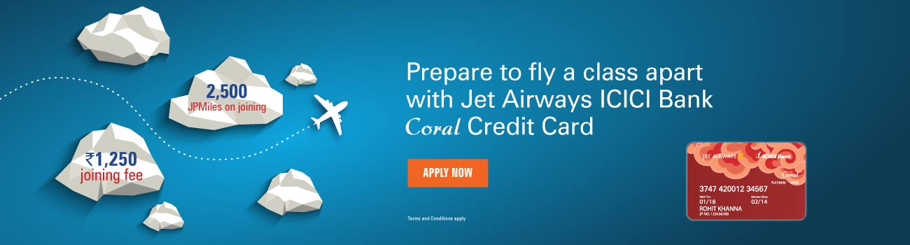 Jet Airways Coral Offer