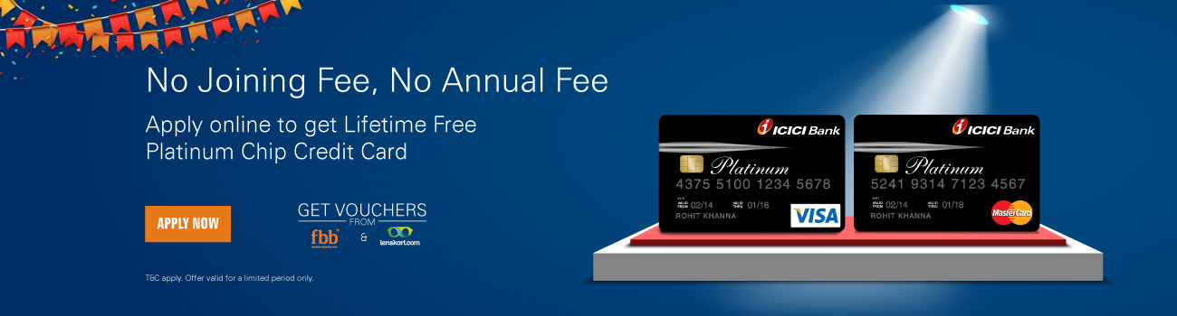 Platinum Chip Lifetime Free Credit Card