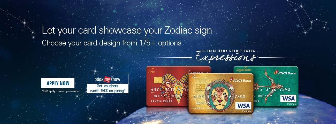 Zodiac Sign  Credit Card