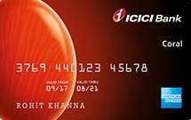 Apply ICICI Bank Coral Credit Card - Rewards, Charges, Features, Benefits 1