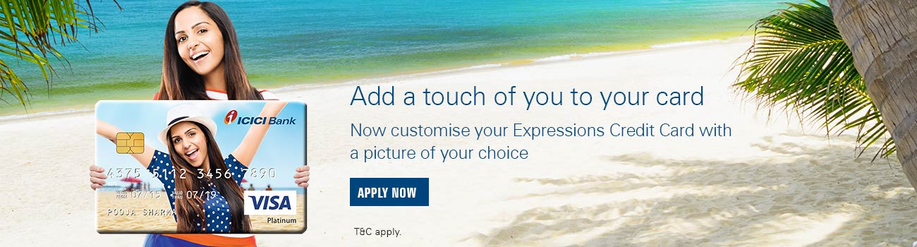 ICICI Bank Expressions Credit Card