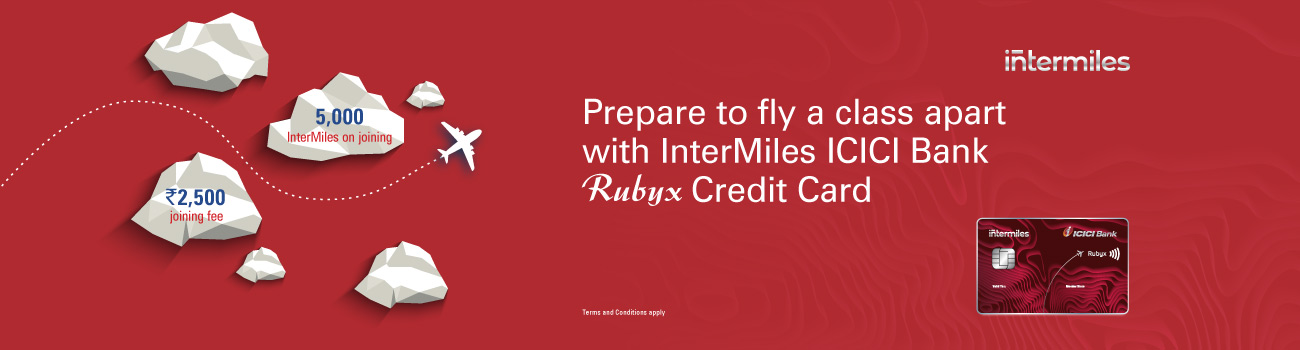 Jet Airways ICICI Bank Rubyx Credit Cards