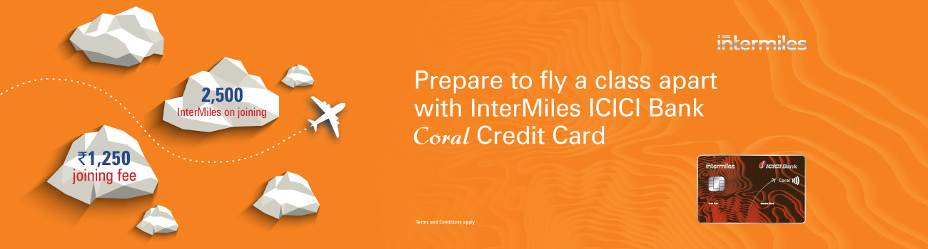 InterMiles ICICI Bank Coral Credit Cards
