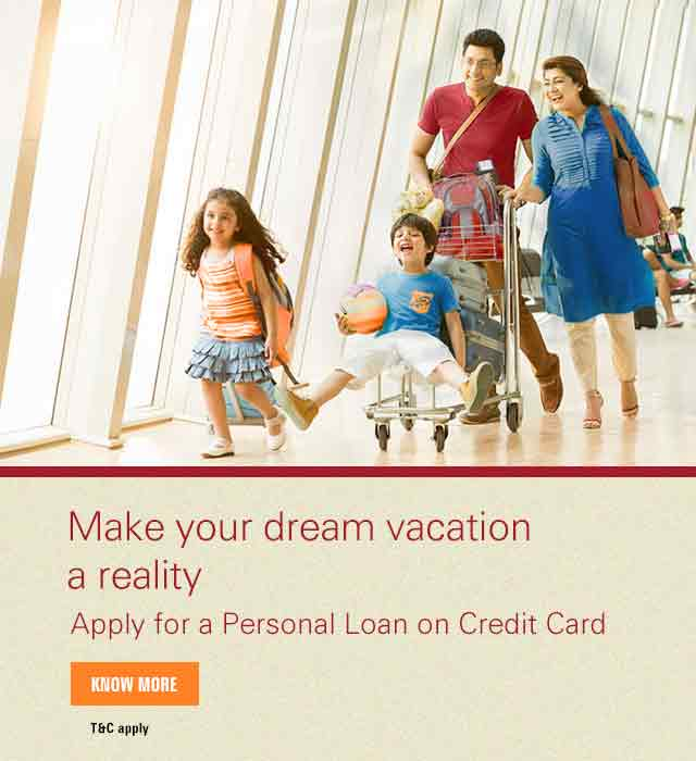 apply personal loan on credit card - Personal Loan On Credit Card