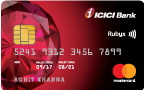 ICICI Bank Rubyx Credit Card Against Fixed Deposit