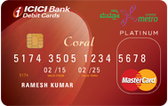 Bangalore Metro Coral Debit Card