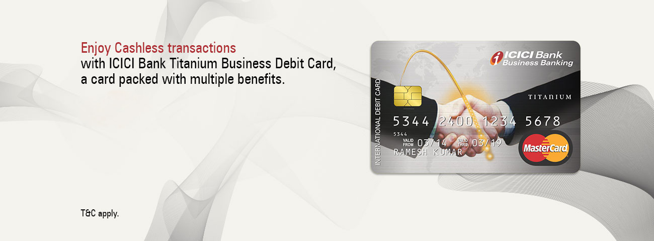 Titanium Business Debit Card