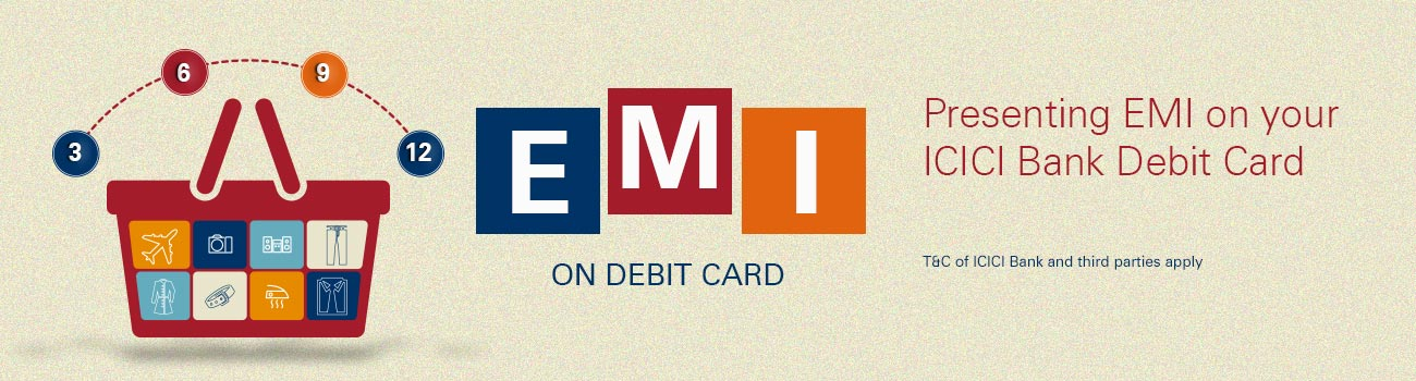 EMI on Debit Cards