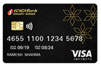 ICICI Bank Wealth Select Visa Infinite Debit Card