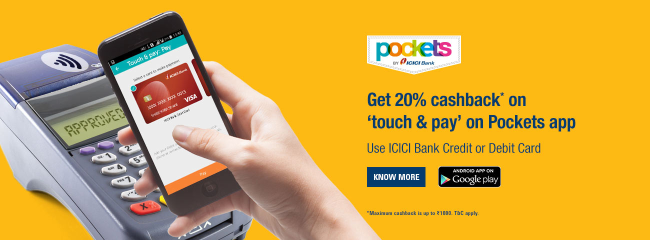 Touch n Pay Pockets App